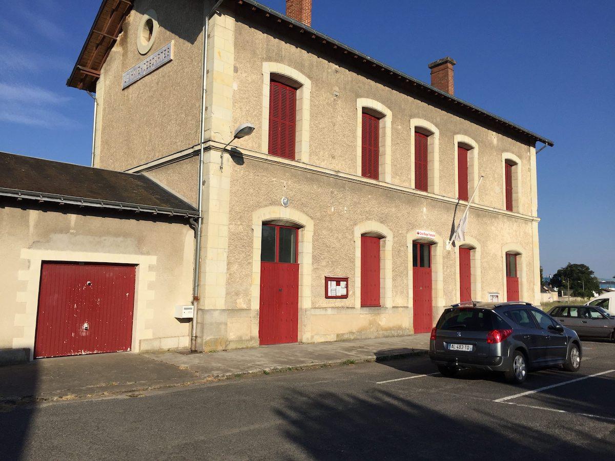 Ancienne gare de Descartes