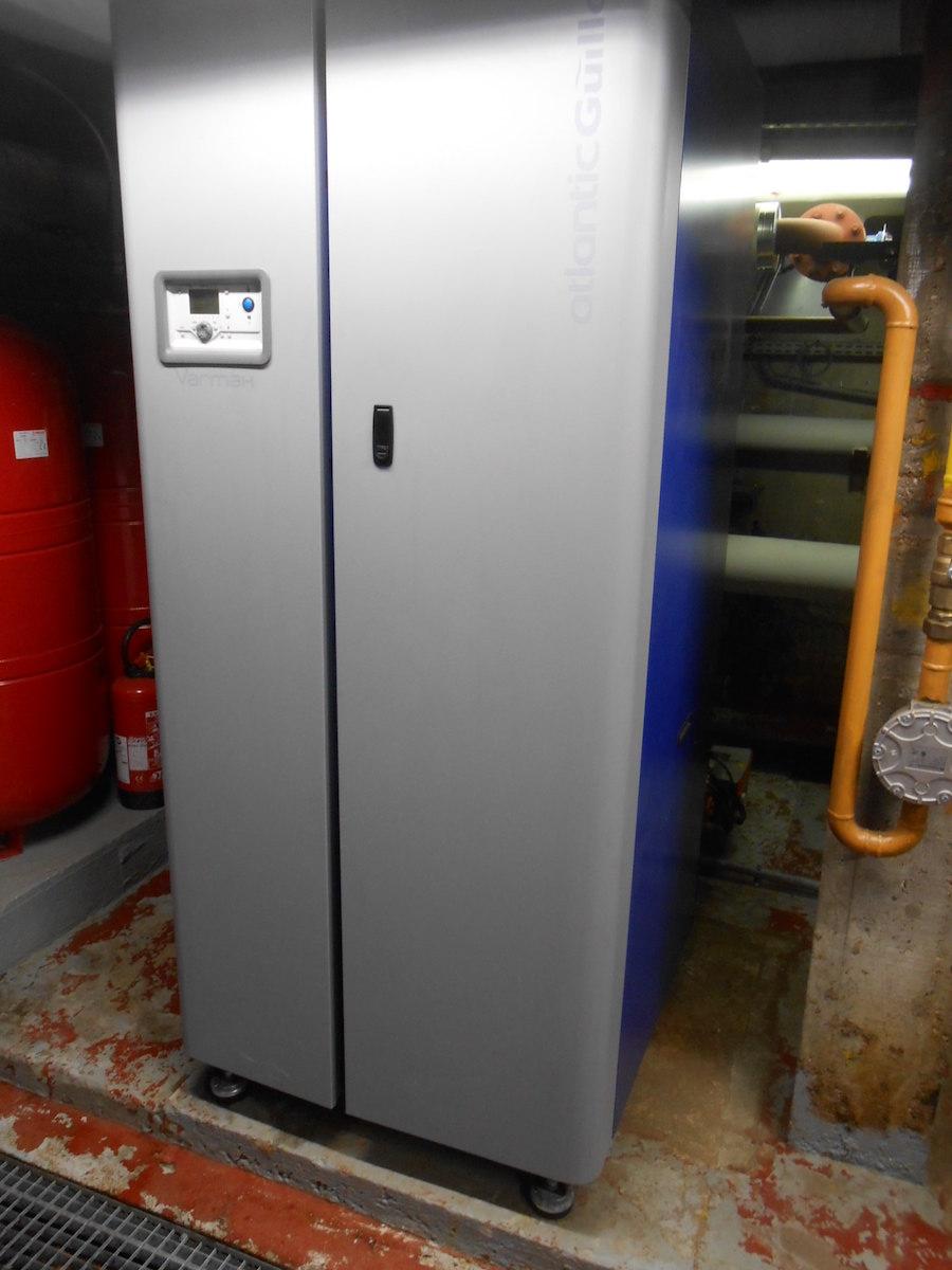 Chaudière rénovée sous le contrôle d'ENERGIO