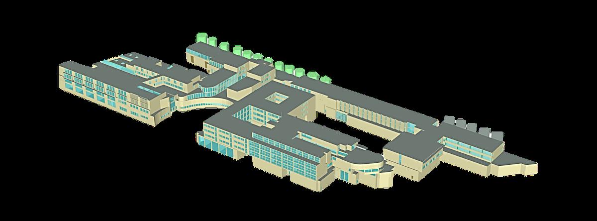 Bâtiment modélisé par ENERGIO