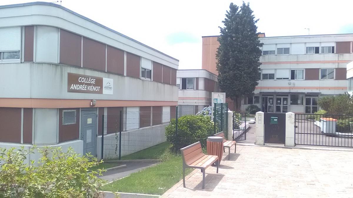 Collège André Vienot à Rocroi