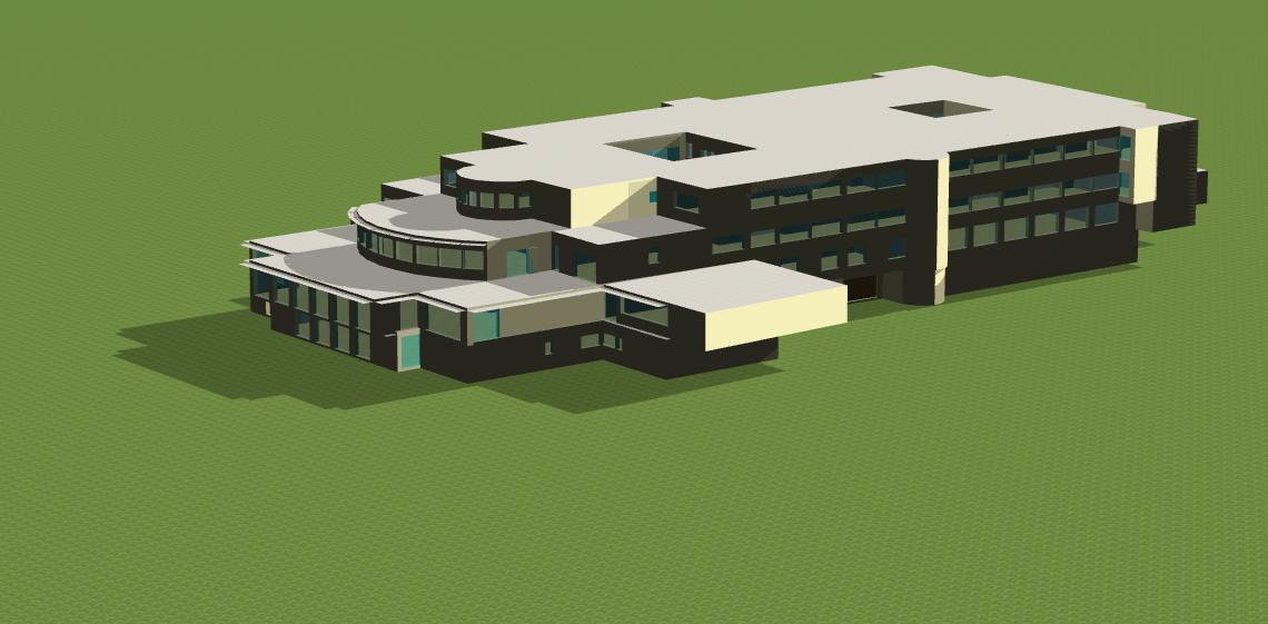Modélisation bâtiment